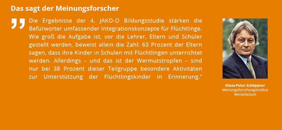 Das sagt der Meinungsforscher Klaus-Peter Schöppner