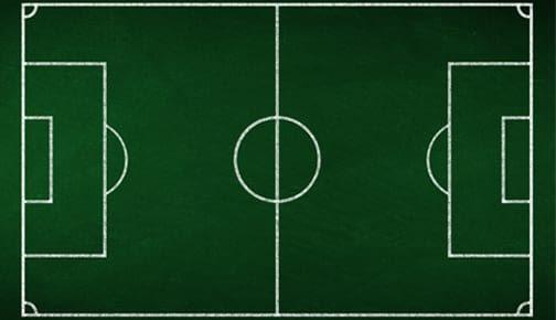 Fußball-Deko
