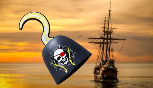 Piraten-Deko