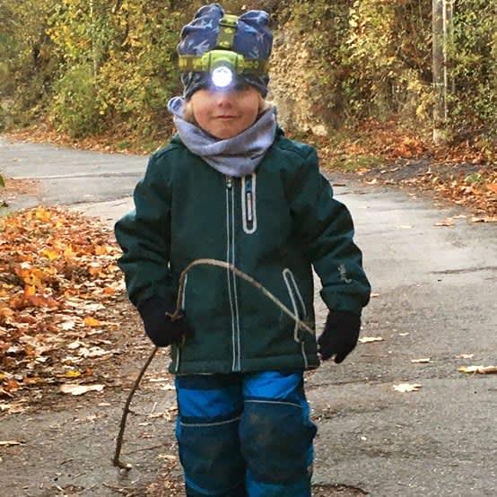 Abenteuerlustig: Mattis macht den Kita-Weg zur Expedition