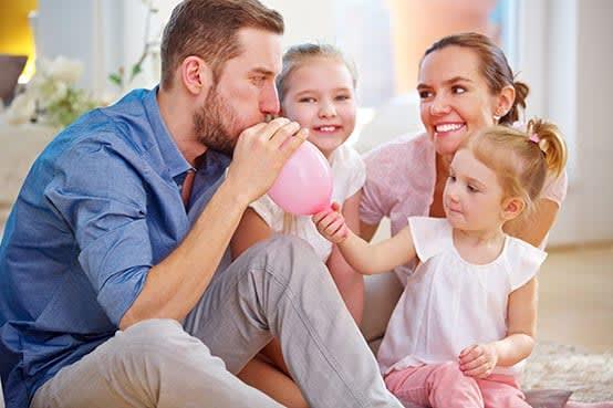 Familie Luftballon