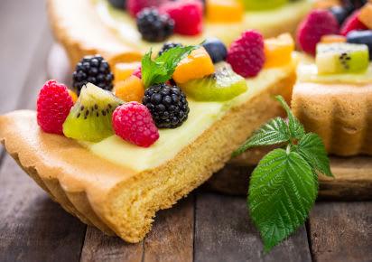 Backen für den Kindergeburtstag: Fruchtiger Obstkuchen