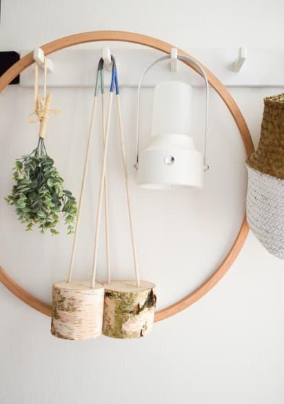 Bastelideen für den Sommer: Selbstgebastelte Stelzen aus Holz