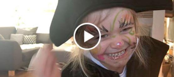 Schminkvideo für Piraten