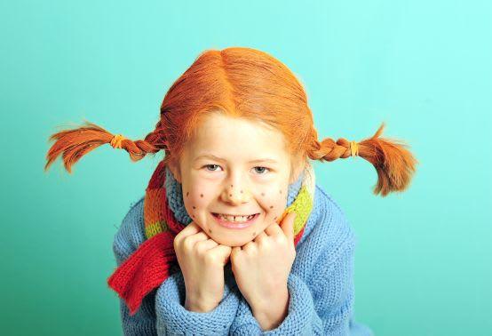Pippi Langstrumpf schminken