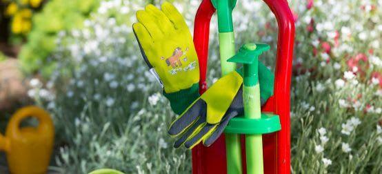 Gärtnern mit Kindern: Passendes Gartenzubehör