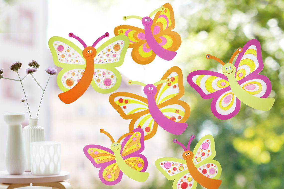 Garten-Ideen: Frühlingsbasteln im Garten