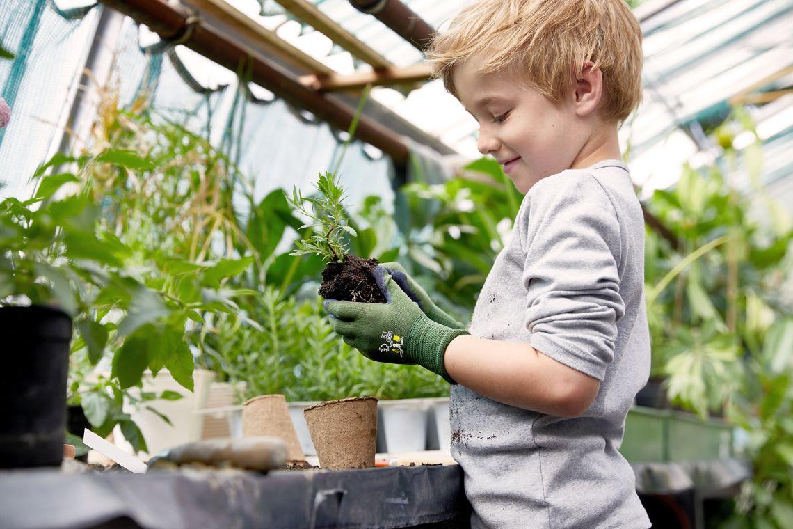 Garten-Ideen: DIY-Anleitung für euer eigenes Kinderbeet
