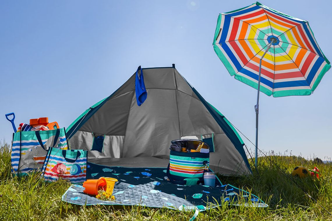 Garten-Ideen: Zelten im eigenen Garten