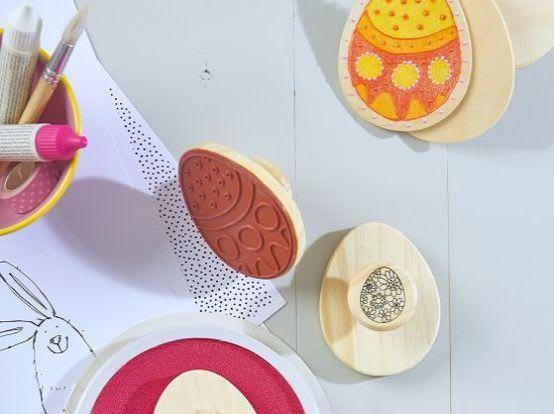 Osterkarten basteln mit Kindern: Materialien