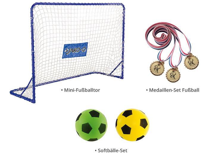 Cleveres Fußballspaß-Paket
