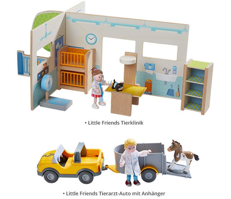 HABA Little Friends Tierklinik-Paket