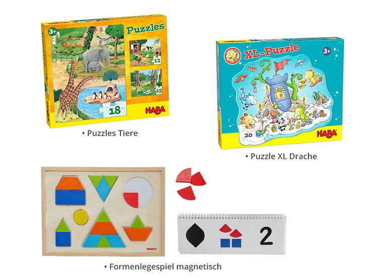 Puzzle-Paket: Erstes Puzzlen