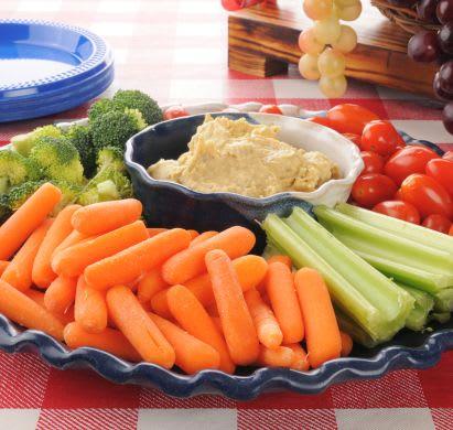 Picknick mit Kindern: gesunde Gemüse-Sticks