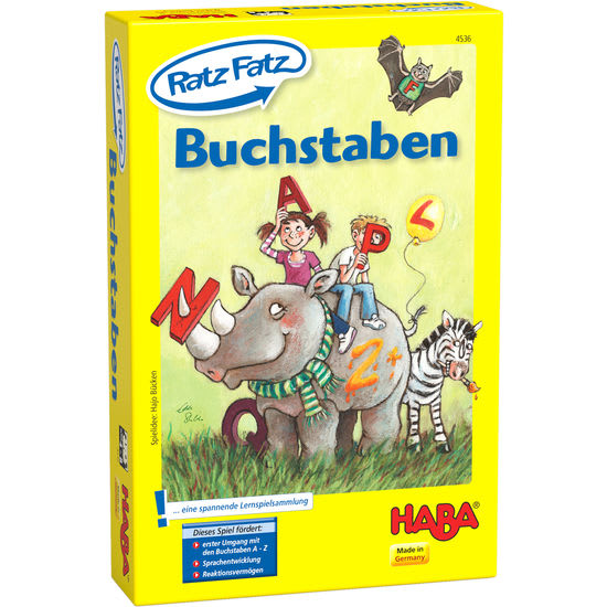 Ratz Fatz - Buchstaben HABA 4536