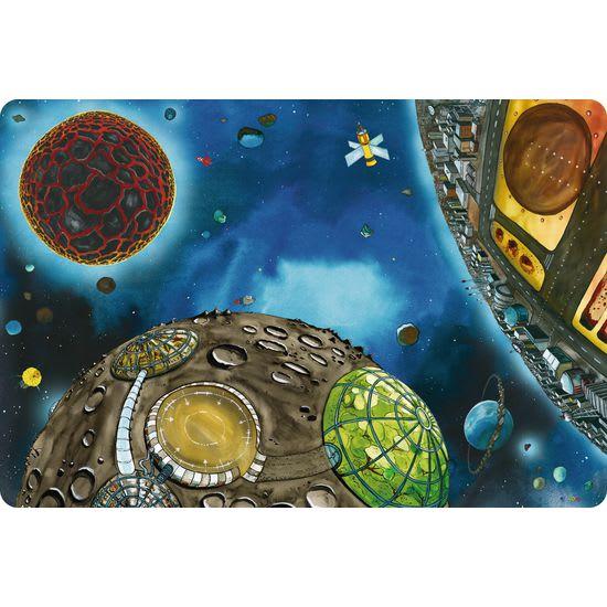 Spielteppich Weltraum JAKO-O, 130x180 cm