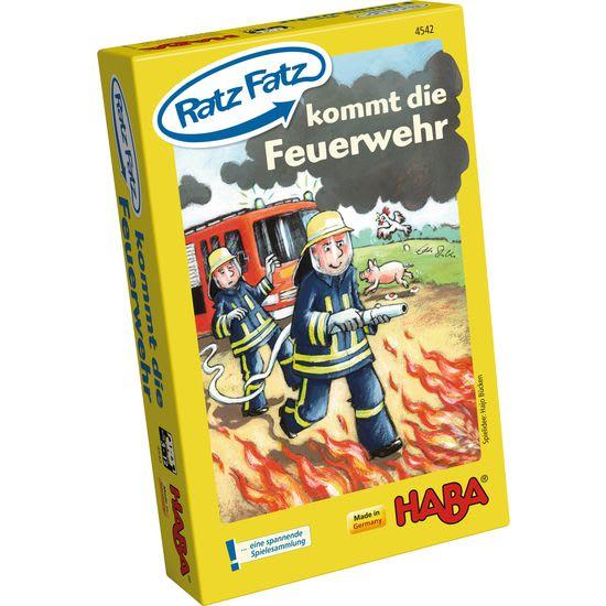 Ratz Fatz kommt die Feuerwehr HABA 4542