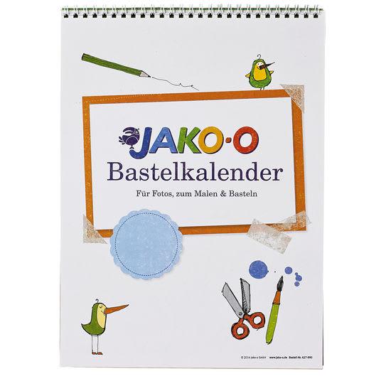 Mal- und Bastelkalender JAKO-O, bunt A4