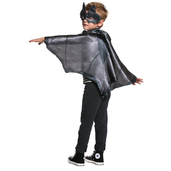 Kinder-Kostüm Flügel und Maske Fledermaus JAKO-O, Größe 104-128