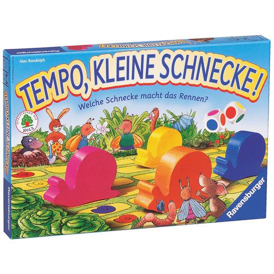 Ravensburger 21420 Kinderspiel Tempo, kleine Schnecke!