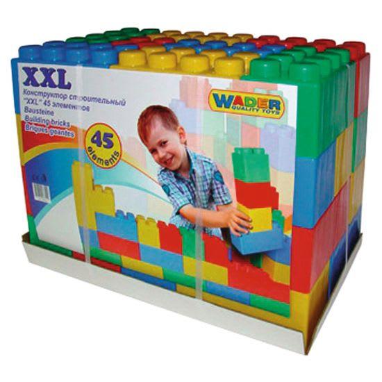 WADER Maxi-Bausteine, 45 Stück