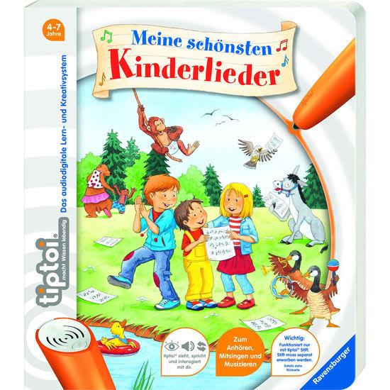 Ravensburger tiptoi® 43514 Meine schönsten Kinderlieder