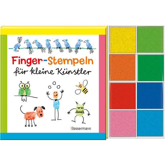 Bassermann Finger-Stempeln für kleine Künstler