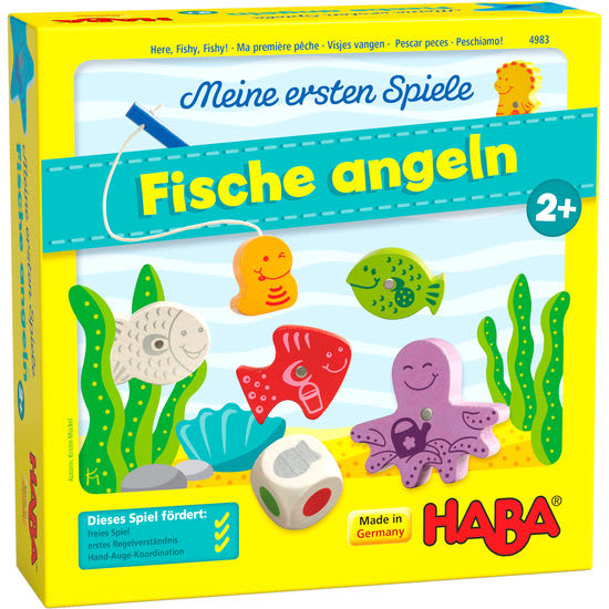 Meine ersten Spiele - Fische angeln HABA 4983