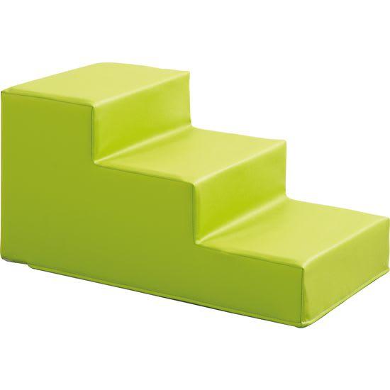 Softbaustein Treppe grün