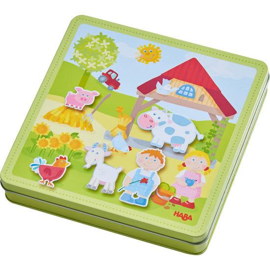 Magnetspiel-Box Peters und Paulines Bauernhof HABA 301951