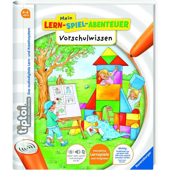 Ravensburger tiptoi® 41805 Mein Lern-Spiel-Abenteuer: Vorschulwissen