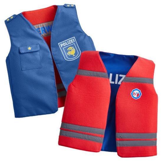 Kinder-Wendekostüm Polizei/Feuerwehr JAKO-O, Größe 104-134
