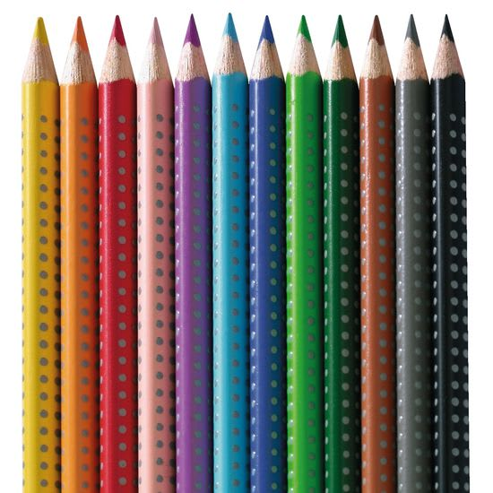 Faber-Castell Buntstifte Colour GRIP, 12 Farben