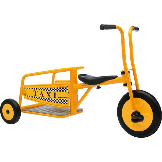 Streitwagen Taxi, Dreirad mit Ladefläche