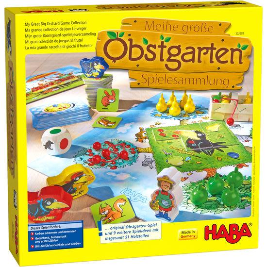 Meine große Obstgarten-Spielesammlung HABA 302282