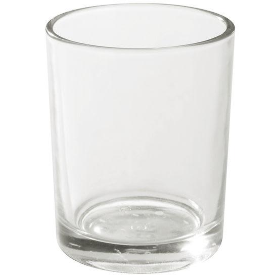 Teelicht-Gläser zylindrisch