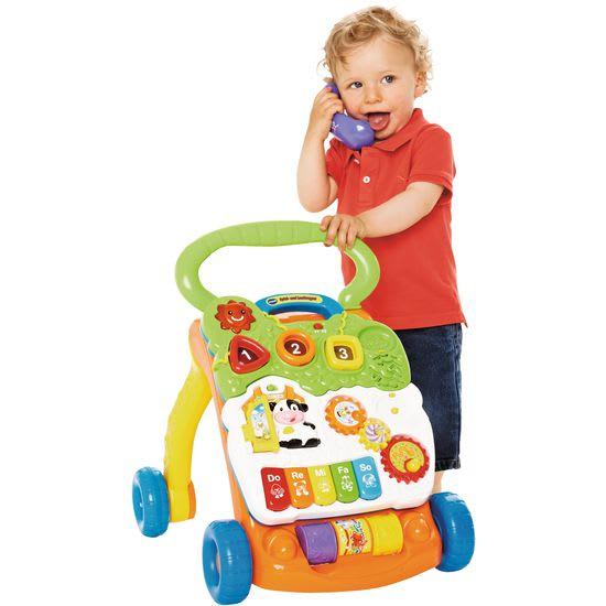 vtech® Baby Spiel- und Laufwagen