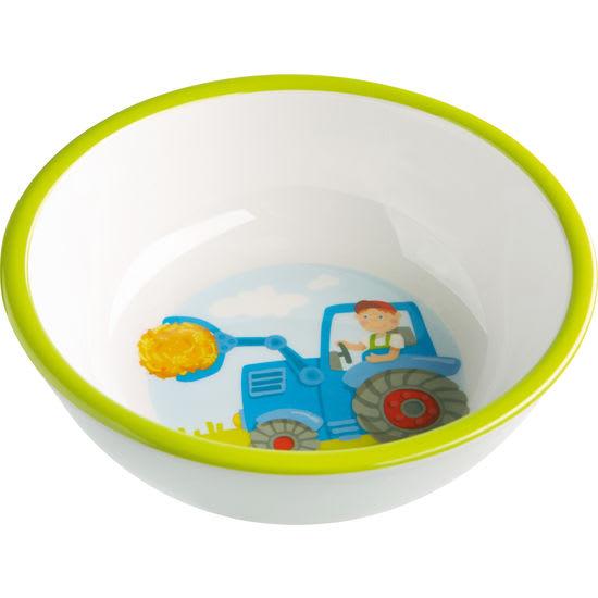 Kinder Melamin Schüssel Traktor HABA 302819