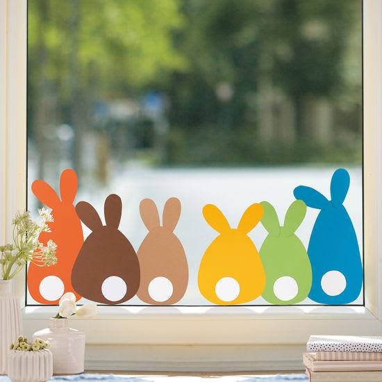 Sachenmacher Fensterbilder Erstes Schneiden – Ostern