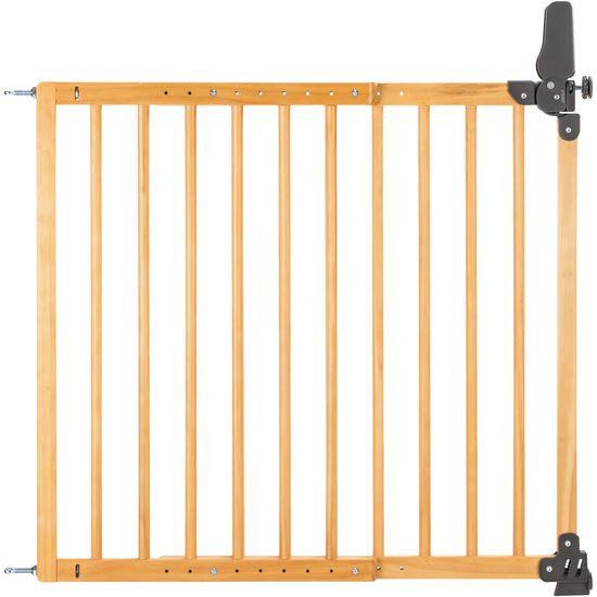 reer 46221 Basic Tür- und Treppengitter, Holz