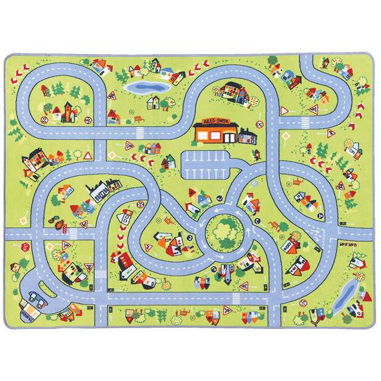 Spielteppich Verkehr JAKO-O, 130x180 cm