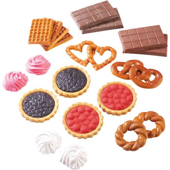 Kaufladen-Süßwaren-Sortiment, 22 Teile