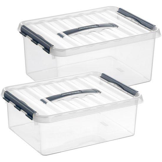 Multi-Boxen, 2 Stück (12 l + 15 l)