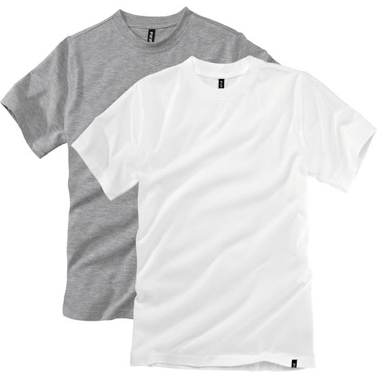 Jungen T-Shirt Rundhals FIT-Z, 2er-Pack