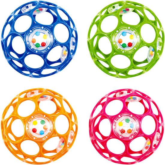 Oball™ Rattle™, Spielzeug mit Rasselperlen
