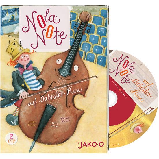 JAKO-O Kinder-CD Nola Note auf Orchesterreise, 2 CDs
