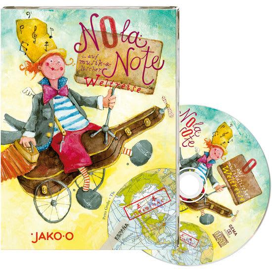JAKO-O Kinder-CD Nola Note auf musikalischer Weltreise, Teil 1
