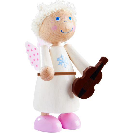 Engel weiß, mit Geige