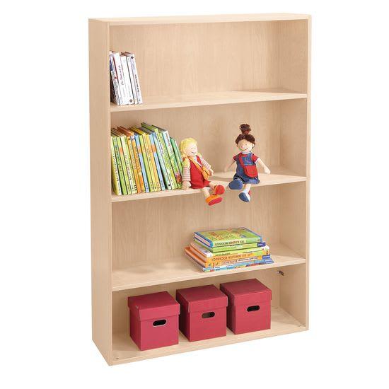 Bücherregal hoch Rudi JAKO-O, mit 3 Einlegeböden