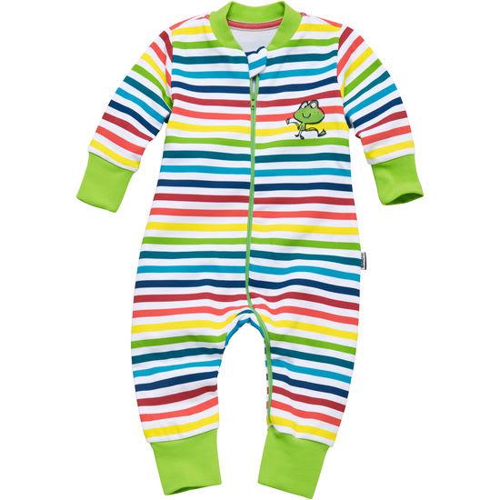 Baby Schlafoverall JAKO-O, geringelt